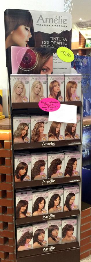 tintura capelli Amelie crema capelli