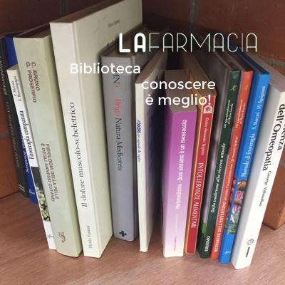 biblioteca a LA farmacia di Bra Bandito